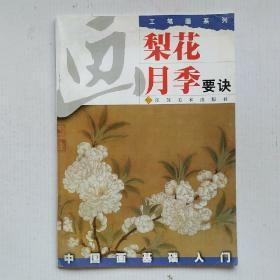 中国画基础入门工笔画系列:画梨花 月季要诀