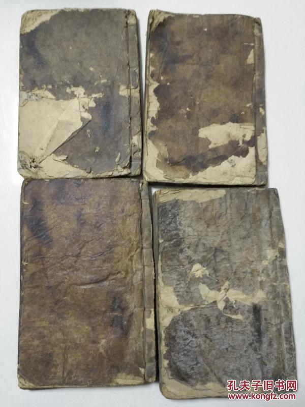 诗经集注 李氏藏版 4本全八卷  品相看图0