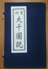 重刊大千图说(全3卷 刘永明签赠本)