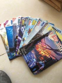 科幻世界 2010 3 4 7.8.9.10.11.12 八册合售