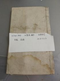 清代木版老书【玉匣记】四本合订01140