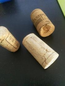 3种红酒瓶软木塞(用过)