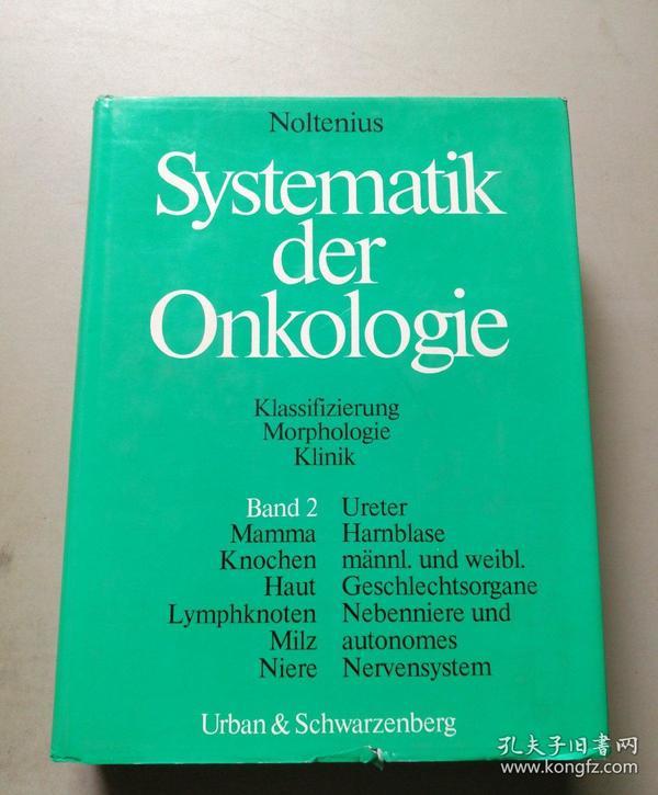 Systematik der Onkologie