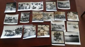 1991年,后任安徽摄影家协会主席陈志勇在寿县拍摄的乔传秀指挥寿县城墙抗洪抢险系列组照。十八张。手工洗印