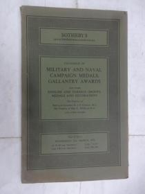 Catalogue of   military and naval campaign medals,gallantry awards(军事海军运动奖牌,英勇奖目录)