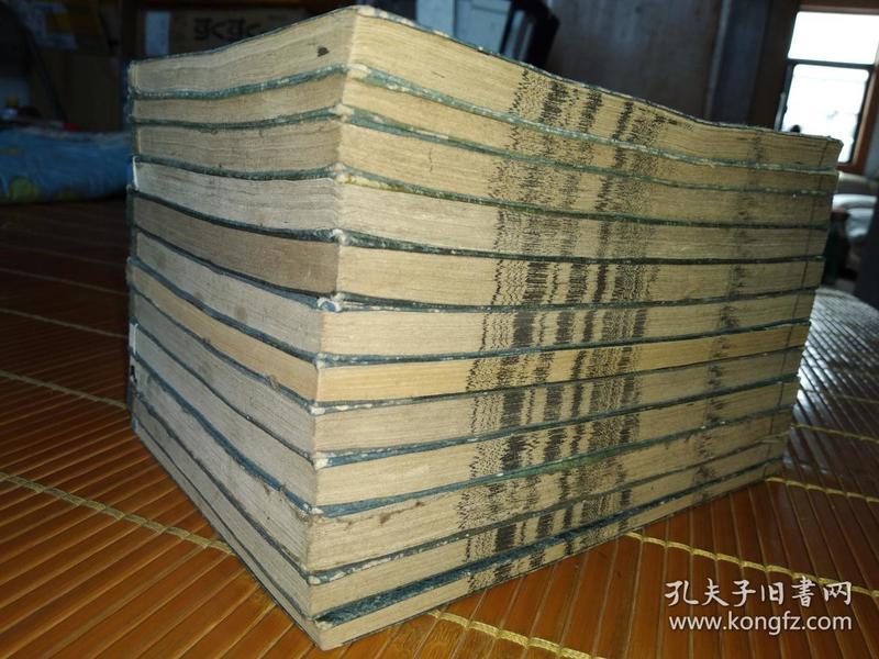 低价出售光绪5年和刻《校刻日本外史》一套22卷12厚册全。。,,,