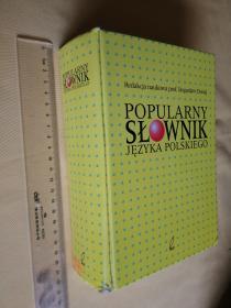 波兰语词典 精装 popularny slownik jezyka polskiego