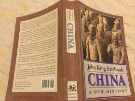 China: A New History 费正清:中国新史,1992哈佛老版,多精美插图,560页2磅余,九品强