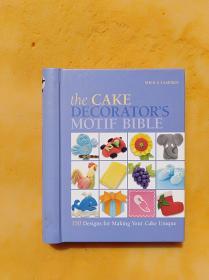 the cake decorators motifbible      (32开精装本)《014》