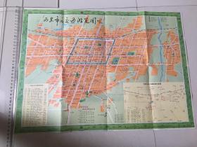 93新版 西安市区交通游览图