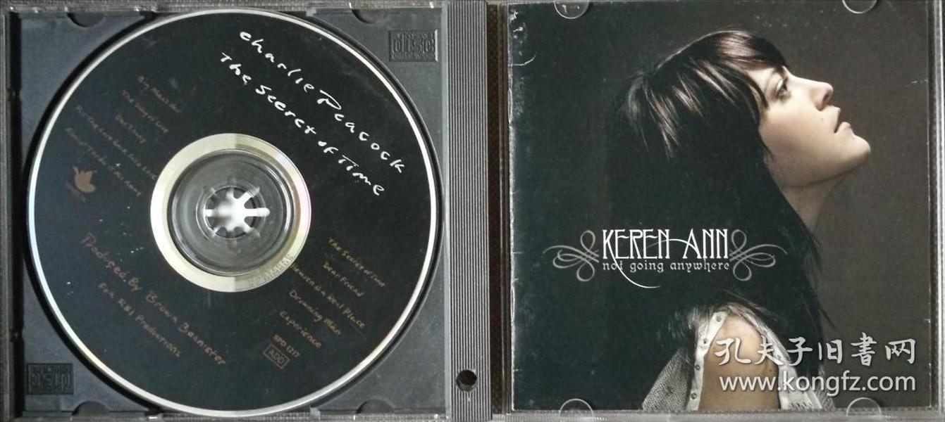 Not Going Anywhere-艺人:Keren Ann凯伦·安-民谣流行-欧美正版CD