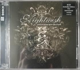 Endless Forms Most Beautiful-乐队名:Nightwish-夜愿乐队-交响金属-欧美正版2CD