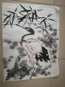 [3306阿文花鸟画一幅