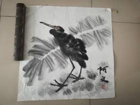 [3344阿文花鸟画一幅