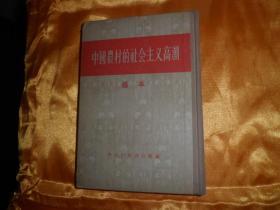 精装本《中国农村的社会主义高潮》 选本