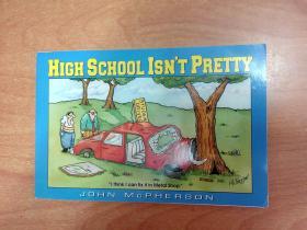 High School Isnt Pretty(32开本横开本 英文版漫画本)