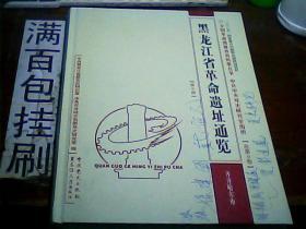 黑龙江省革命遗址通览(第三册)封面封底有油笔字看图内页完好  包邮挂刷