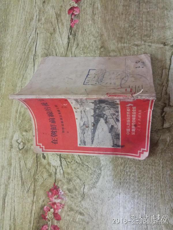 抗美援朝书--在朝鲜前线的后方 很多老照片