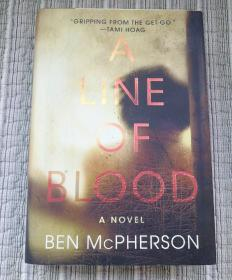 英文版:A.LINE.OF.BLOOD-A.NOVEL.BEN.McPHERSON