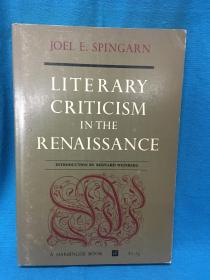 Literary Criticism in the Renaissance【文艺复兴时期的文学批评】