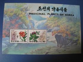 朝鲜1996年花小型张.如图