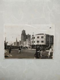 民国老照片-----静安寺路之又一段(今上海南京西路)