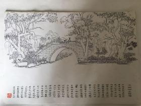 济南艺术学校傅刚教授大明湖写生11幅