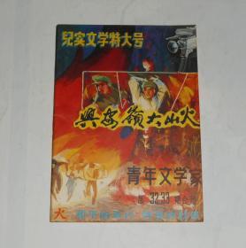 杂志--青年文学家32.33期合刊兴安岭大山火