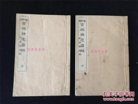 《增补宫殿调度图解》(附《车舆图解》)2册全,有不少宫殿、轿子、礼器等图。可了解古代日本典制礼制    包邮挂尺寸: 18.5 × 12 × 2 cm