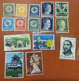 邮票一堆便宜出