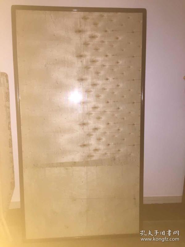 1.5米乘80木质玻璃面画框