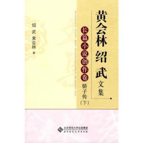 黄会林绍武文集.长篇小说创作卷 骄子传(下)