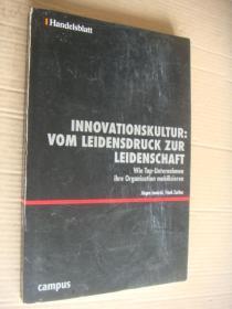 INNOVATIONSKULTUR:VOM LEIDENSDRUCK ZUR LEIDENSCHAFT  德文原版28开