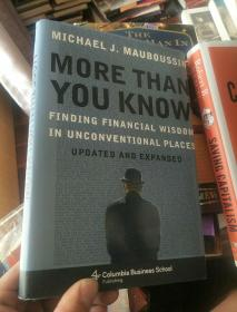 英文原版---More Than You Know: Finding Financial