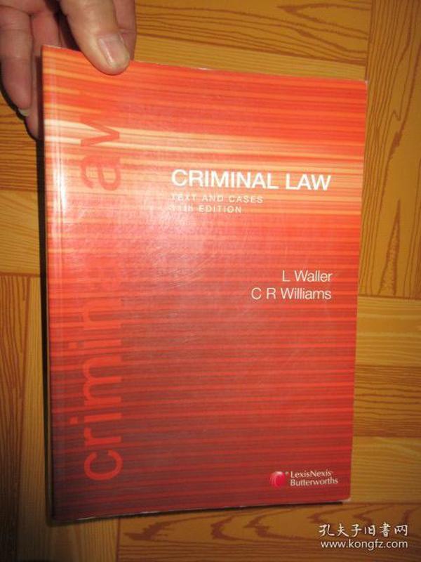Criminal Law(详见图)