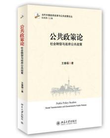 公共政策论:社会转型与政府公共政策