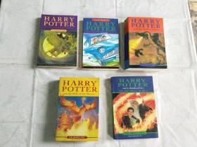 HARRY POTTER 哈利波特 5本合售