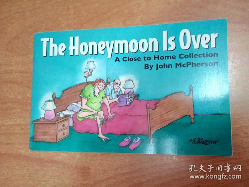 oon Is Over(32开本横开本 英文版漫画本)-外文原版 外文与文史书店