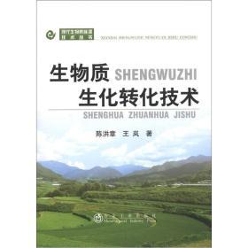 现代生物质能源技术丛书:生物质生化转化技术