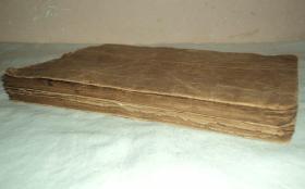 清代手抄本、【医书】、两本一套、绳头小楷漂亮、密密麻麻写满两本。