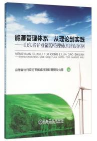9787502472146能源管理体系 从理论到实践-山东省企业能源管理体系建设案例