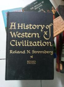 h history of western civilization roland n.strombery  16开精装布面
