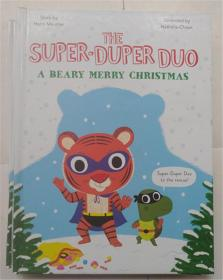 精装 A Beary Merry Christmas (The Super-Duper Duo)  Beary圣诞快乐