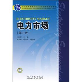 tx 电力市场(第三版)9787508376257 杜松怀 中国电力