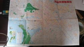 无锡市交通旅游图