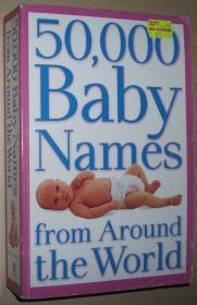 英文原版书 50,000 Baby Names from around the World Paperback – 2003 by Bruce Lansky (Author)