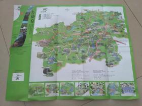 安吉旅游手绘地图()