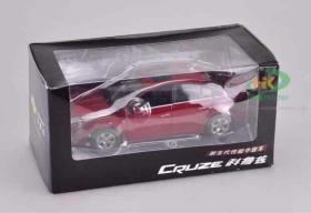 1:24原厂雪佛兰科鲁兹Cruze变形金刚多功能汽车人合金汽车模型