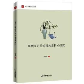 现代汉语零动词关系构式研究