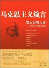 资本来到人间:社会主义从空想到现实